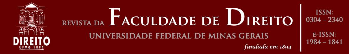Logo da Revista da Faculdade de Direito da Universidade Federal de Minas Gerais, fundada em 1894